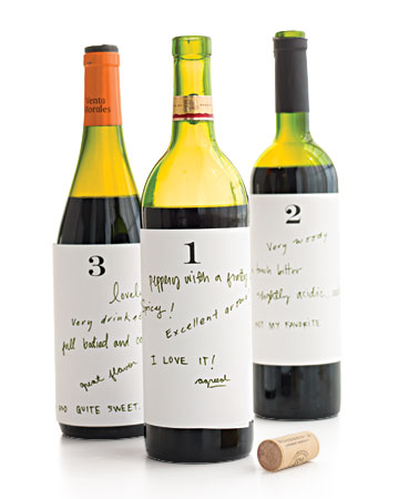 custom wine tasting labels