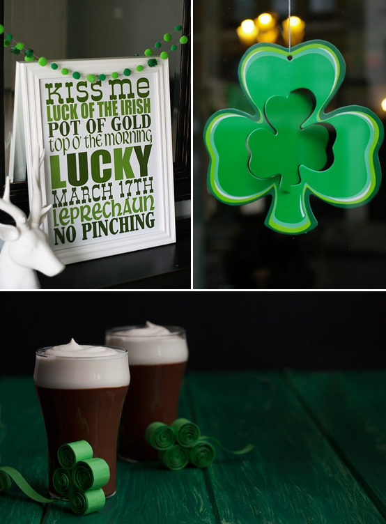 St Patricks Day Inspiration, from Eighteen25Blogspot.com, NowPublic.com and Epicurious.com