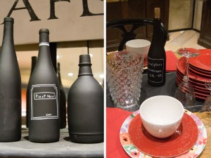 DIY Chalkboard Wine Bottle