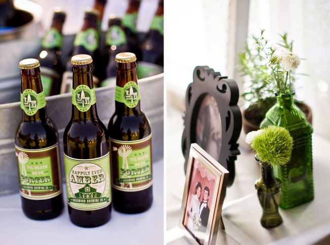 Custom Beer Labels For A Wedding