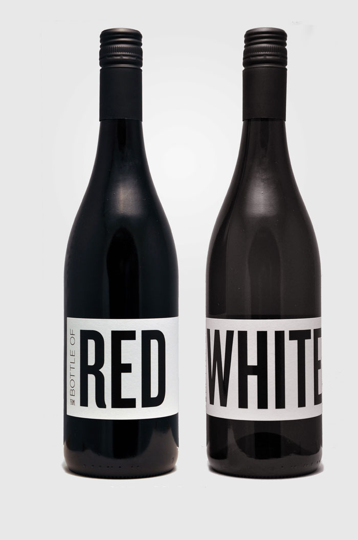 Label Love, Red and White Wine Bottle Labels