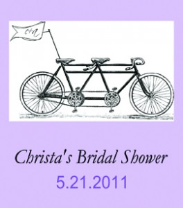 Lavender Custom Bridal Shower Label from Bottle Your Brand