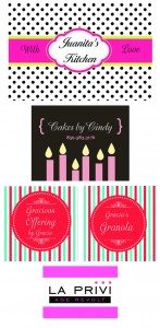 Custom Labels for All Your Homemade Treats and Goodies