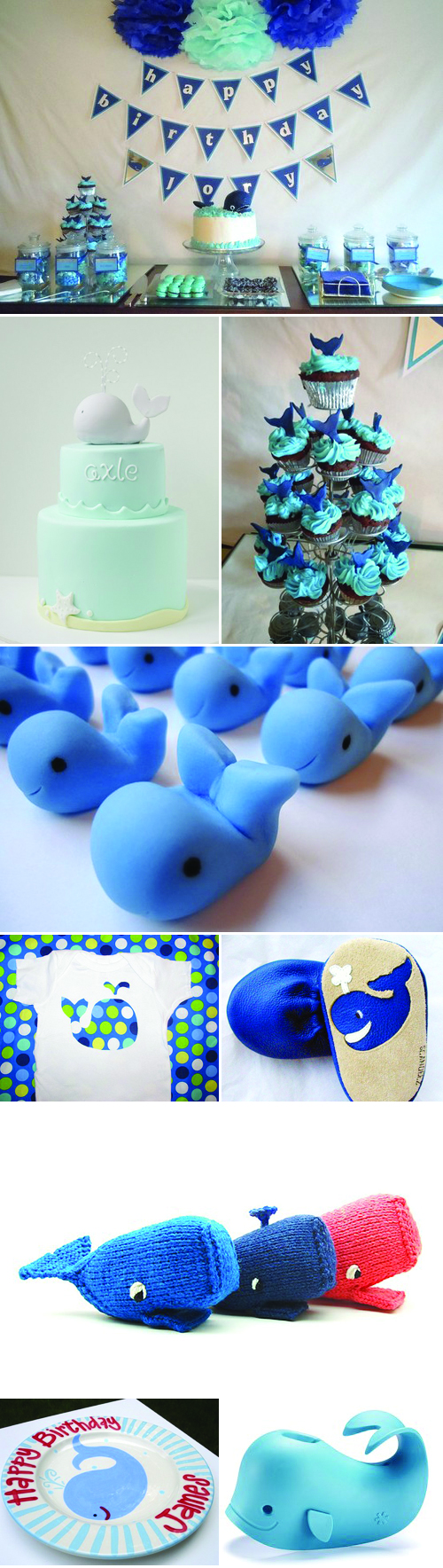 Whale Themed Kid's Party Inspiration