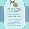 Cookies and Milk Birthday Party Invitation, Bottle Your Brand