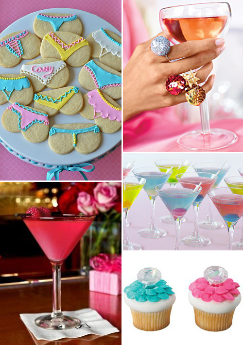 Bachelorette Swanky Martini Party Inspiration