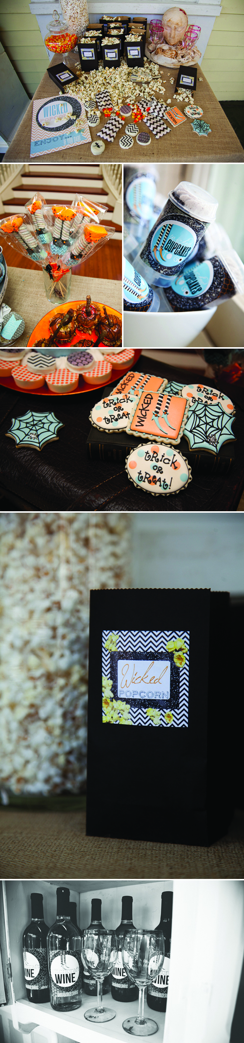Halloween Party, Custom Party Labels, Bottle Your Brand and Party Box Design