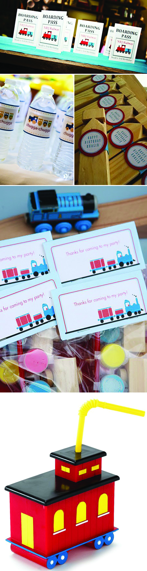 Train Theme Birthday Party Ideas and Inspiration for Kids