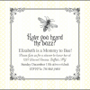 Custom Vintage Bumble Bee Baby Shower Invitation