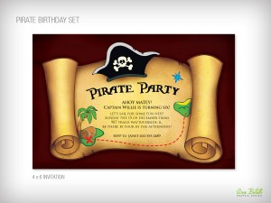 Pirate Birthday Party, Kids, by Bottle Your Brand