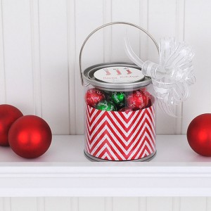 Holiday Gift Idea #6: Mini Paint Can Christmas Favor
