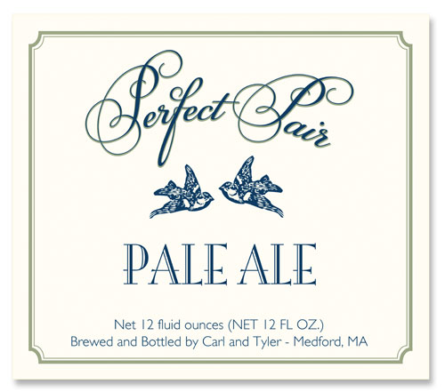Wedding Beer Label Perfect Pair Number 16 of 20 of our 20 Must See Beer Labels