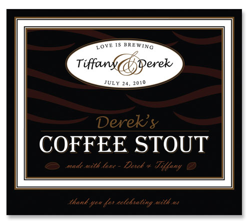 Beer Label Coffee Stout Number 12 of 20 of our 20 Must See Beer Labels