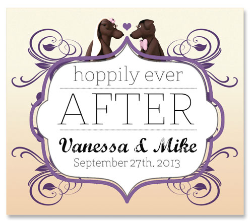 Beer Label Hoppily Ever After Number 8 of 20 of Our 20 Must See Wedding Beer Labels