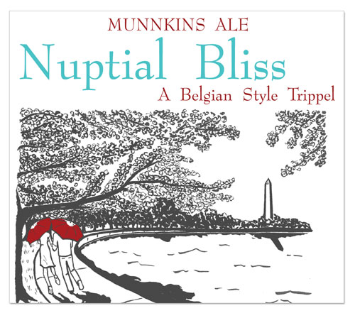 Beer Label Nuptial Bliss Number 5 of 20 of Our 20 Must See Wedding Beer Labels
