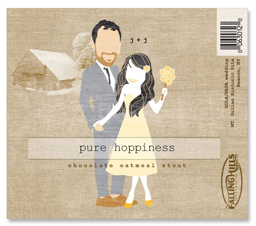 Beer Label Pure Hoppiness Number 1 of 20 of Our 20 Must See Wedding Beer Labels