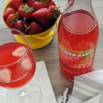Strawberry wine is a refreshing summertime drink