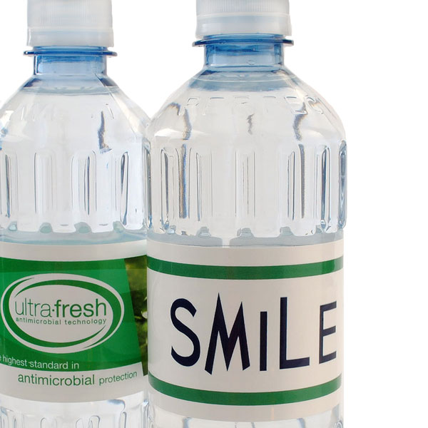 Custom bottled water for dentist