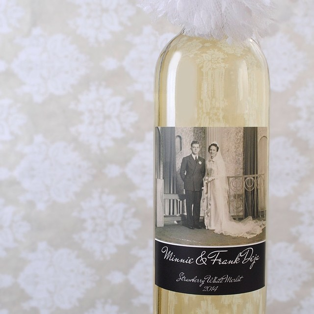 Special wedding anniversary coming up? Surprise them with a #photowinelabel #anniversary #goldenanniversary #love #truelove #passion #wine #winelover #sidekick #celebratewithwine