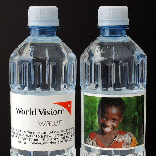 Nonprofits use custom bottled water for festivals and events