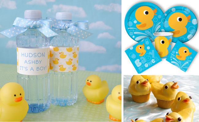 Rubber-Duckie-Baby-shower-favors-water-bottle-labels