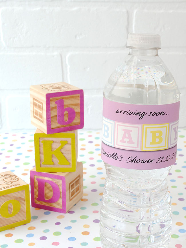 Water-Bottle-Label-BABY-blocks-for-baby-shower-favors