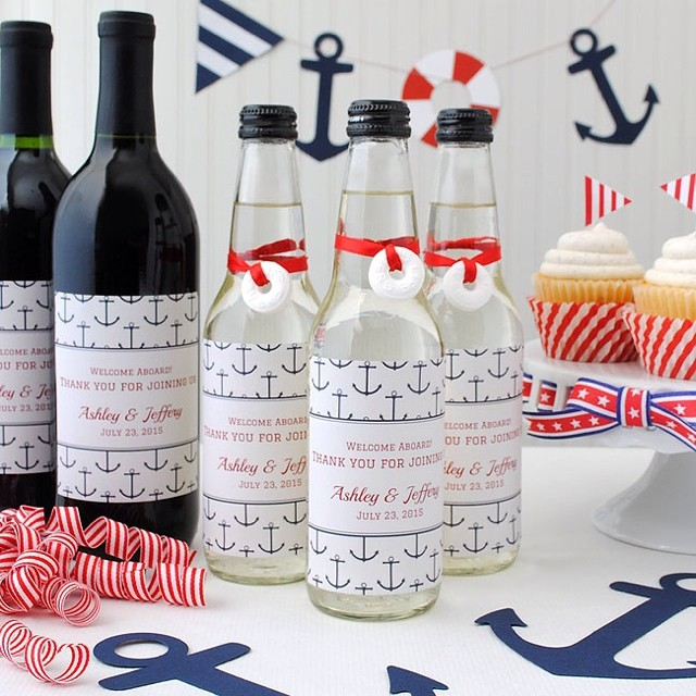 Boat party or nautical theme, get inspiration from our latest blogpost. #nautical #nauticalfavors #boating #boatparty #anchorsaweigh #summerparty #sailing #potd #celebrate #navy