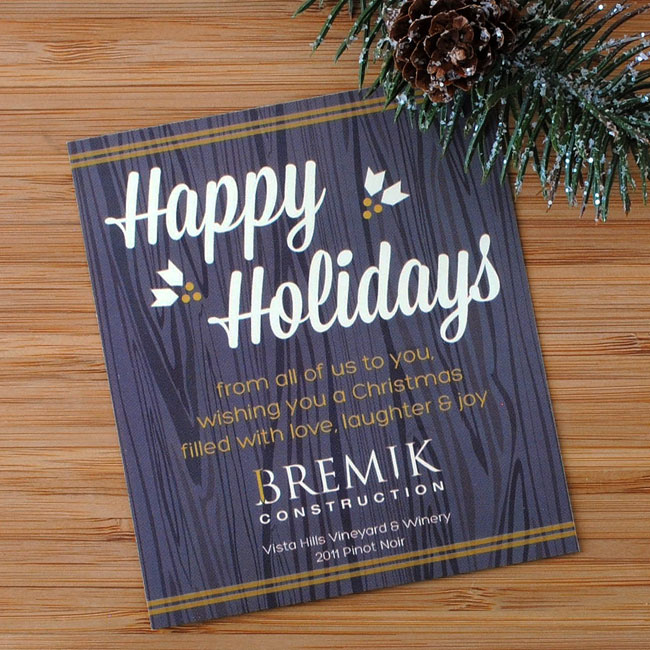 Corporate-custom-holiday-wine-label