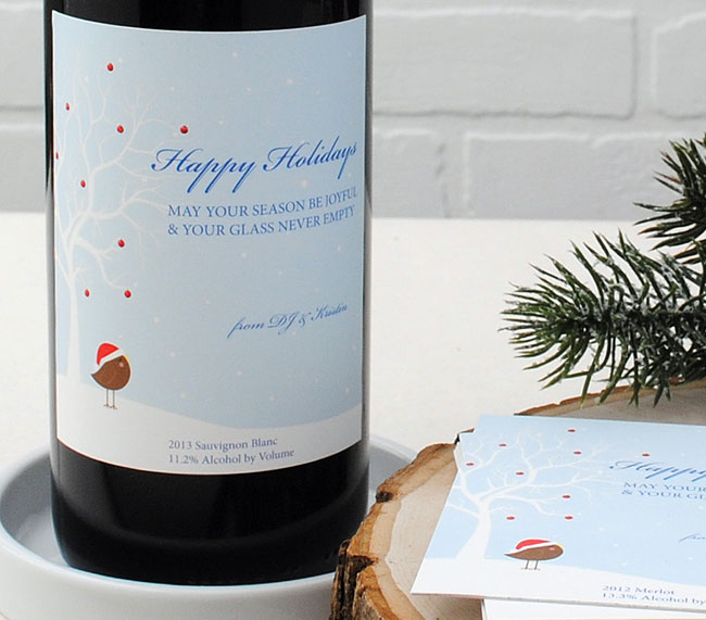Wine-Label-Christmas-Tweet-customize-for-the-holidays