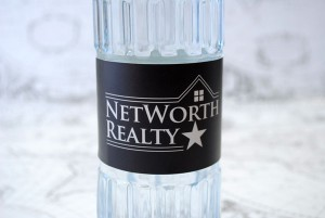 How to Market Your Real Estate Services with Custom Water Bottle Labels