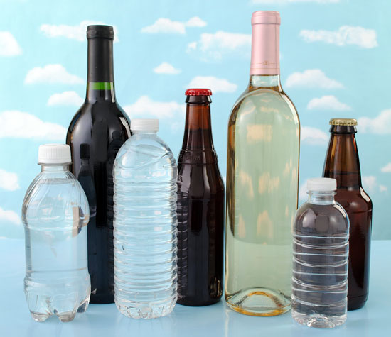 How to remove labels from bottles including water bottles, beer bottles and wine bottles.
