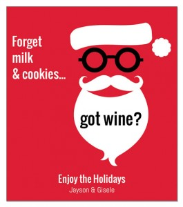 22 Best Holiday Wine Label Sayings