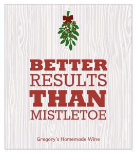 Wine label sayings for the Holidays