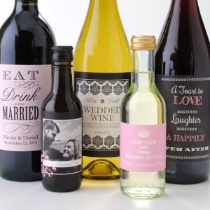 The Bride's Guide to Buying Wedding Wine Labels