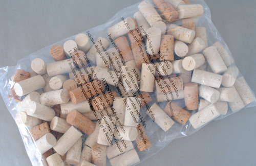 Bag of 100 wine corks