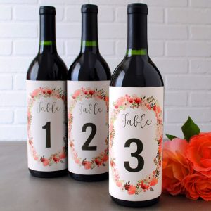 Wedding Table Numbers: A Review of Four DIY Projects