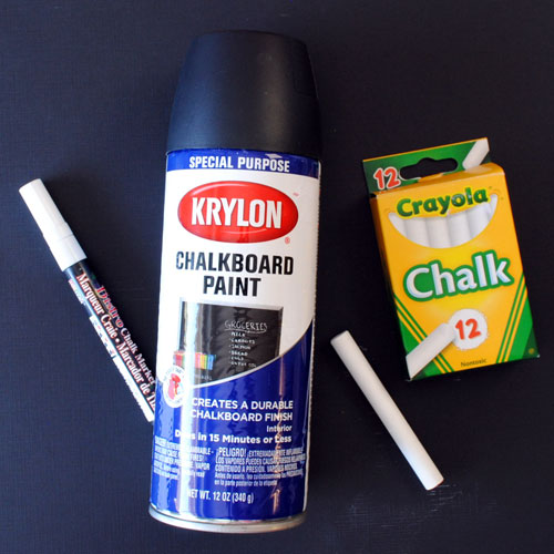 Ways to make chalk numbers