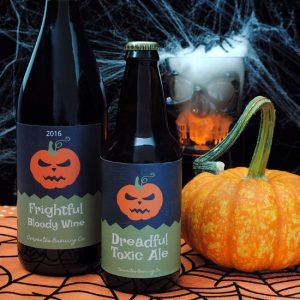 Halloween Wine & Beer Labels