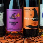halloween-wine-bottles-in-a-row