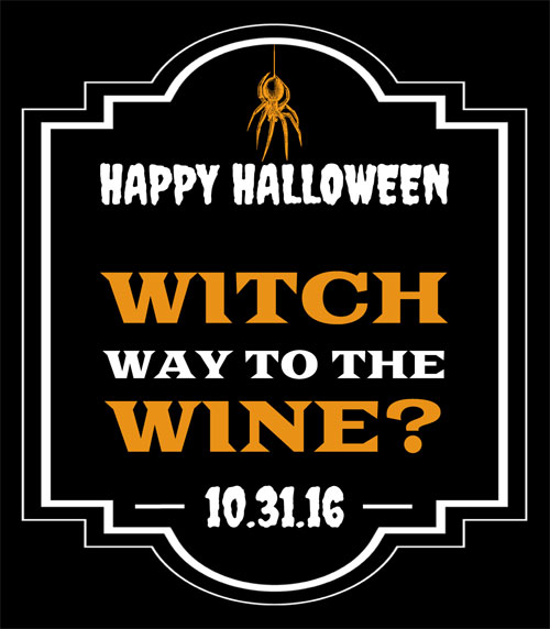 """Witch""way to the wine?"