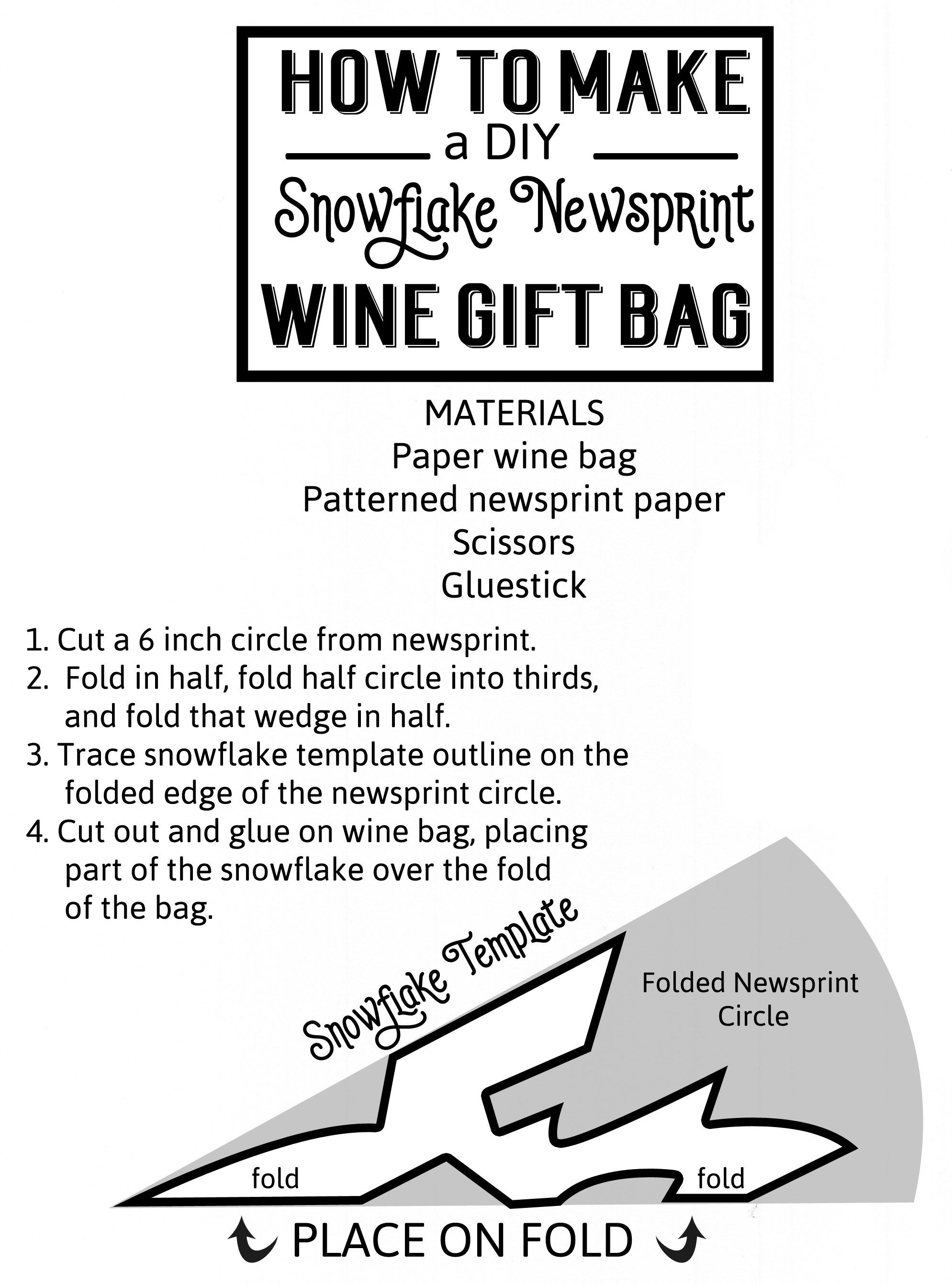 template-for-snowflake-wine-bag