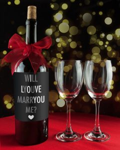 Propose with Valentine Wine + Ten Verses to Ask Her (P.S. She'll Love It!)
