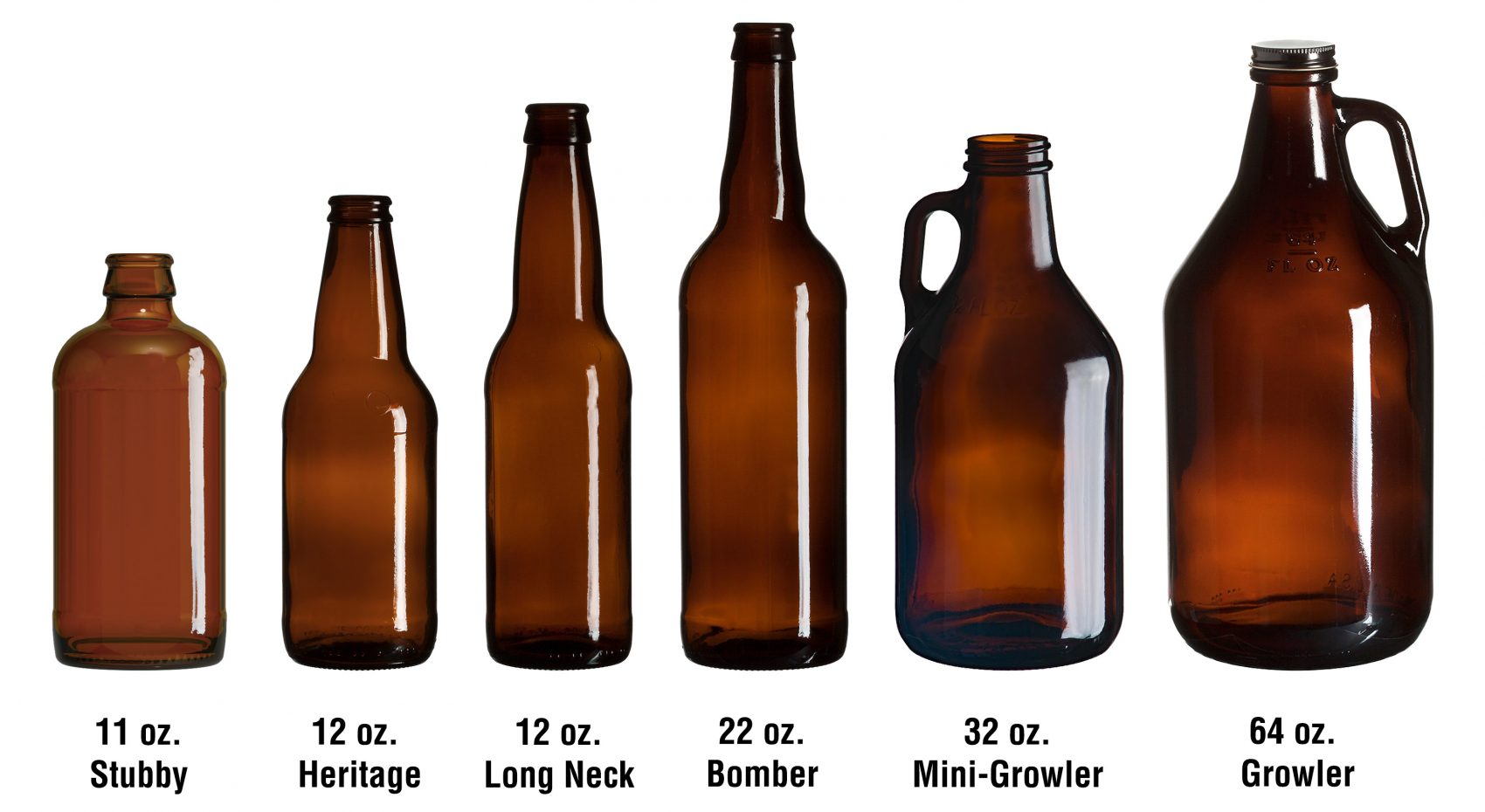 Amber Beer Bottle Sizes For Home Brew Find A Label Each On