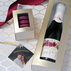 """Sip Sip Hooray!"" Bridal Shower Theme – Custom Favors"