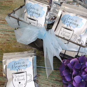 Four Last Minute Coffee Wedding Favors
