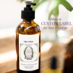 Product prototype label for essential oils
