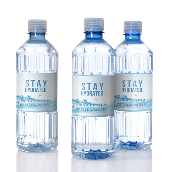 Recycled plastic bottles made and sourced responsibly for private labeling.