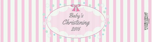 Christening Girl