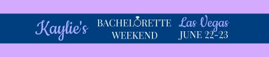 Bachelorette Weekend