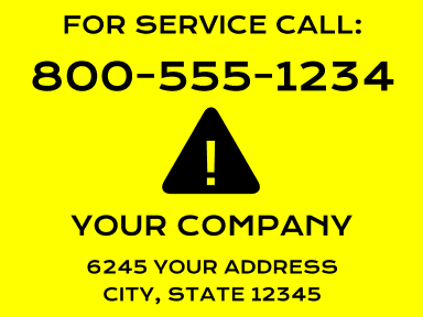 Call For Service